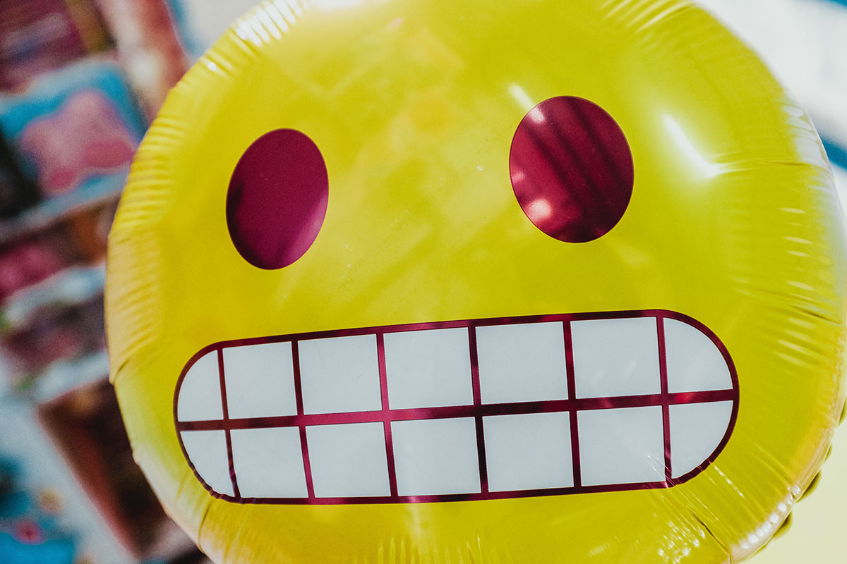 Happy face ballon